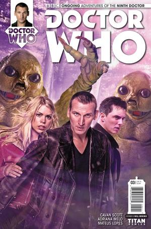 DOCTOR WHO: THE NINTH DOCTOR #3 - Cover B (Credit: Titan)