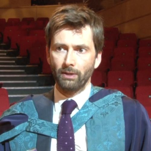 David Tennant awarded an honorary doctorate by Royal Conservatoire of Scotland