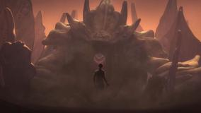 Star Wars Rebels - The Bendu, voiced by Tom Baker (Credit: Star Wars/Disney XD)