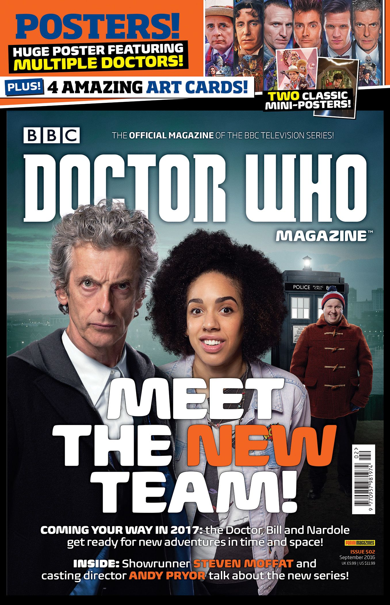 Doctor Who Magazine 502 (in bag) (Credit: DWM/Panini)