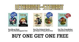 Lethbridge-Stewart: 2-for-1 offer (Credit: Candy Jar Books)