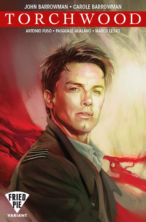 Torchwood #1 - Books-a-Million / Fried Pie Variant: Claudia Caranfa