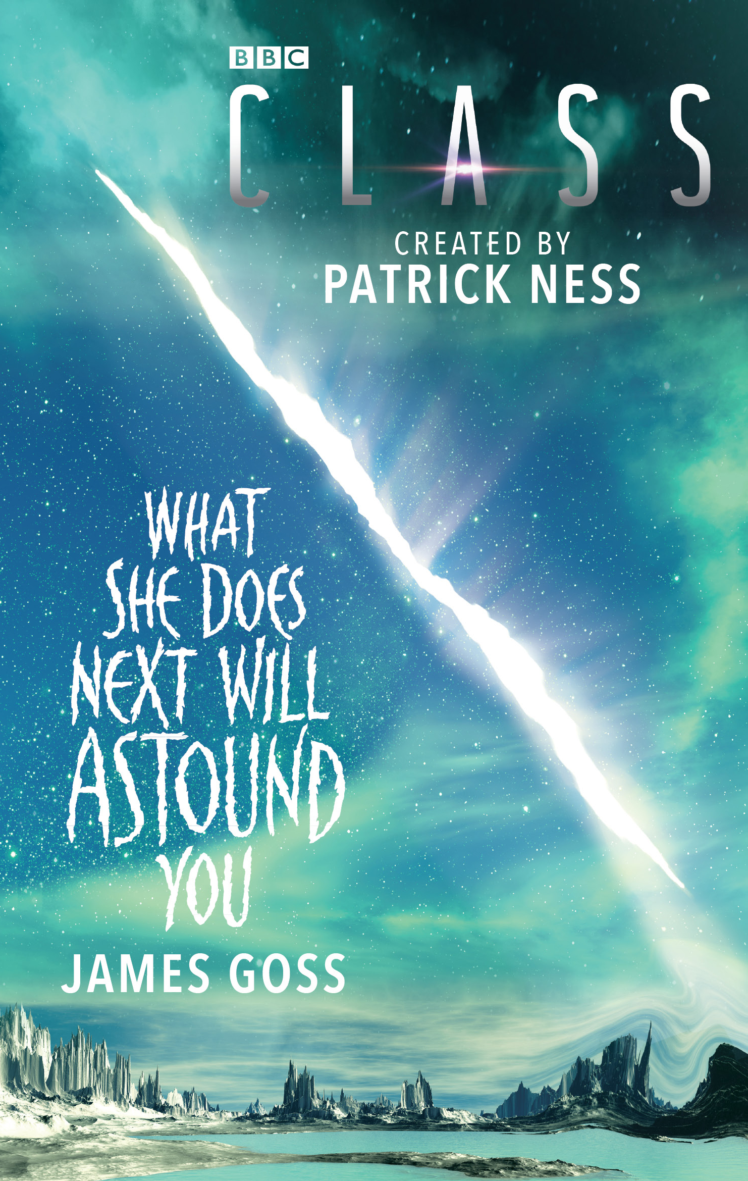 Class: What She Does Next Will Astound You (Credit: BBC Books)