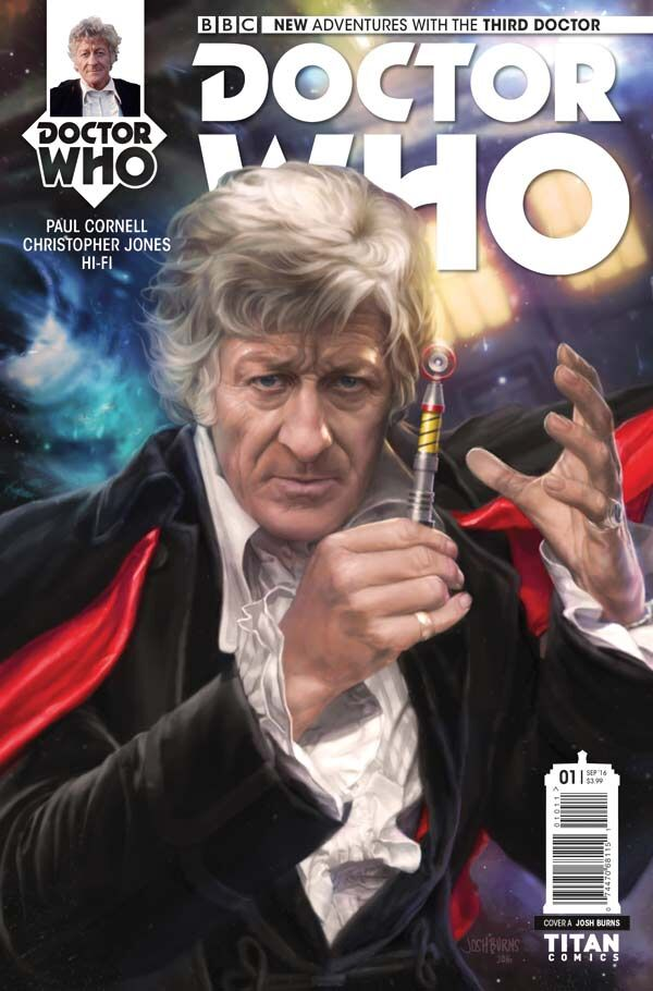 Doctor Who: The Third Doctor #1 (Titan)