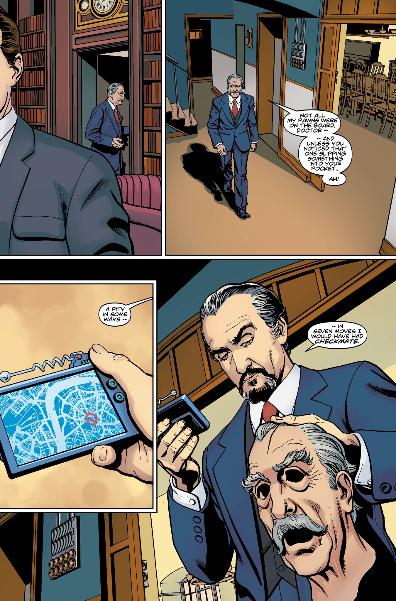 Third Doctor #1 (Titan)