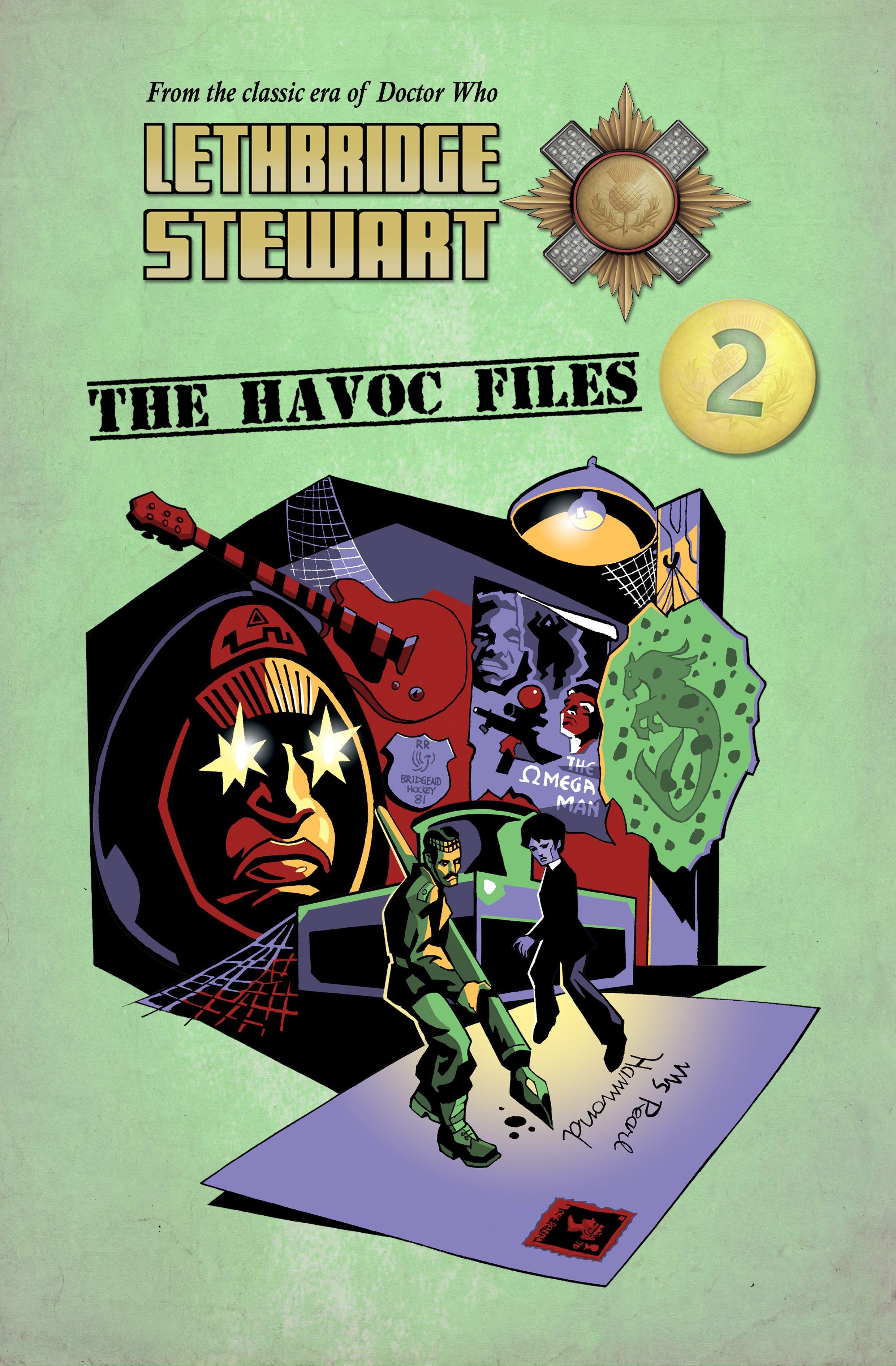 Lethbridge-Stewart: The Havoc Files 2 (Credit: Candy Jar Books)