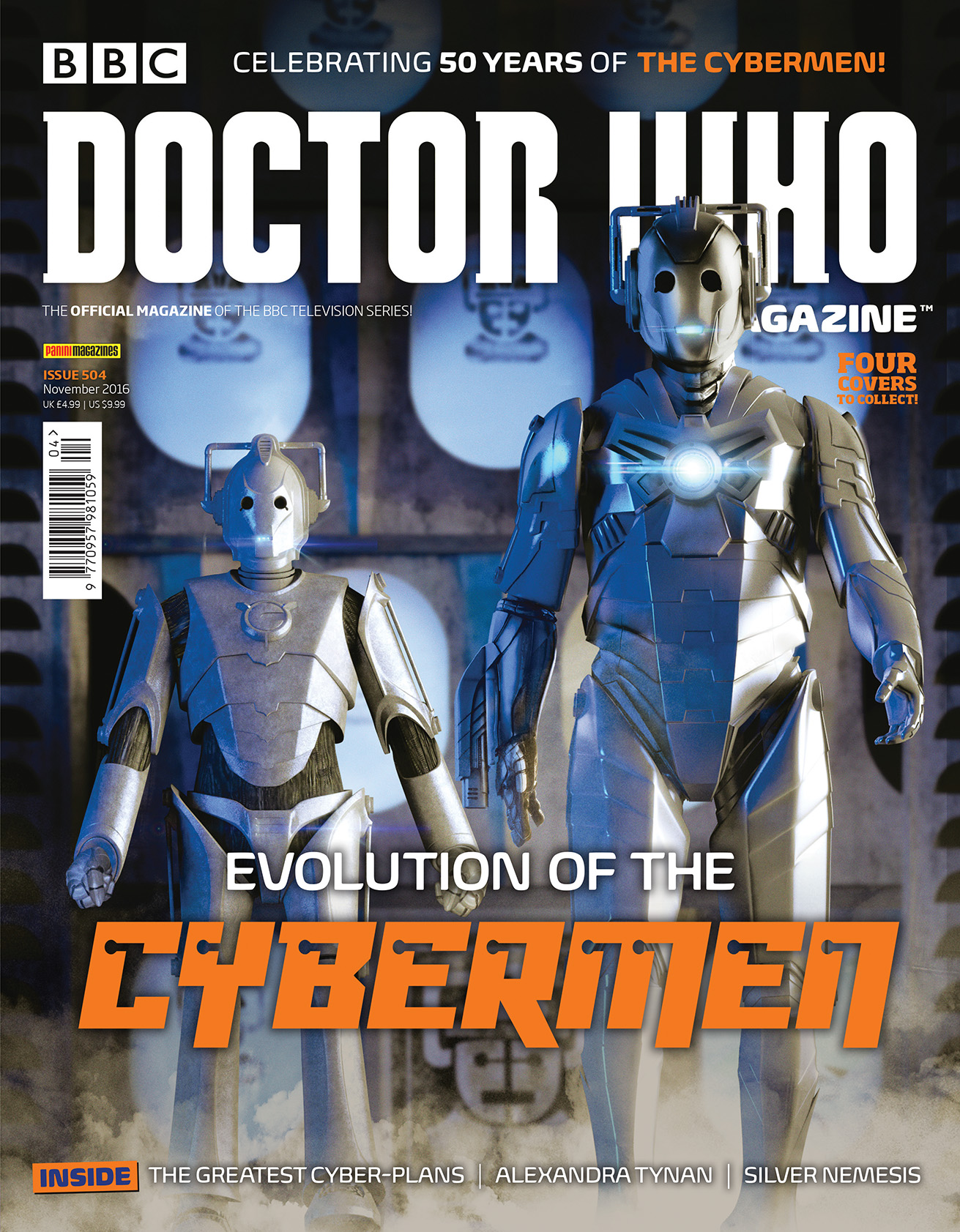 Doctor Who Magazine issue 504 (21st Century Cybermen) (Credit: DWM)