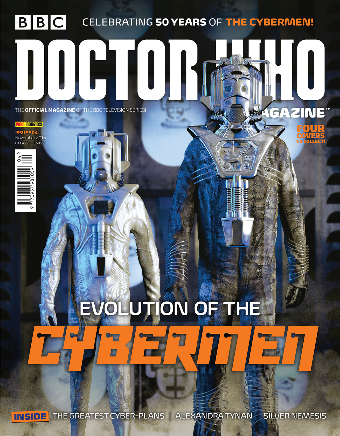 Doctor Who Magazine issue 504 (80s Cybermen) (Credit: DWM)