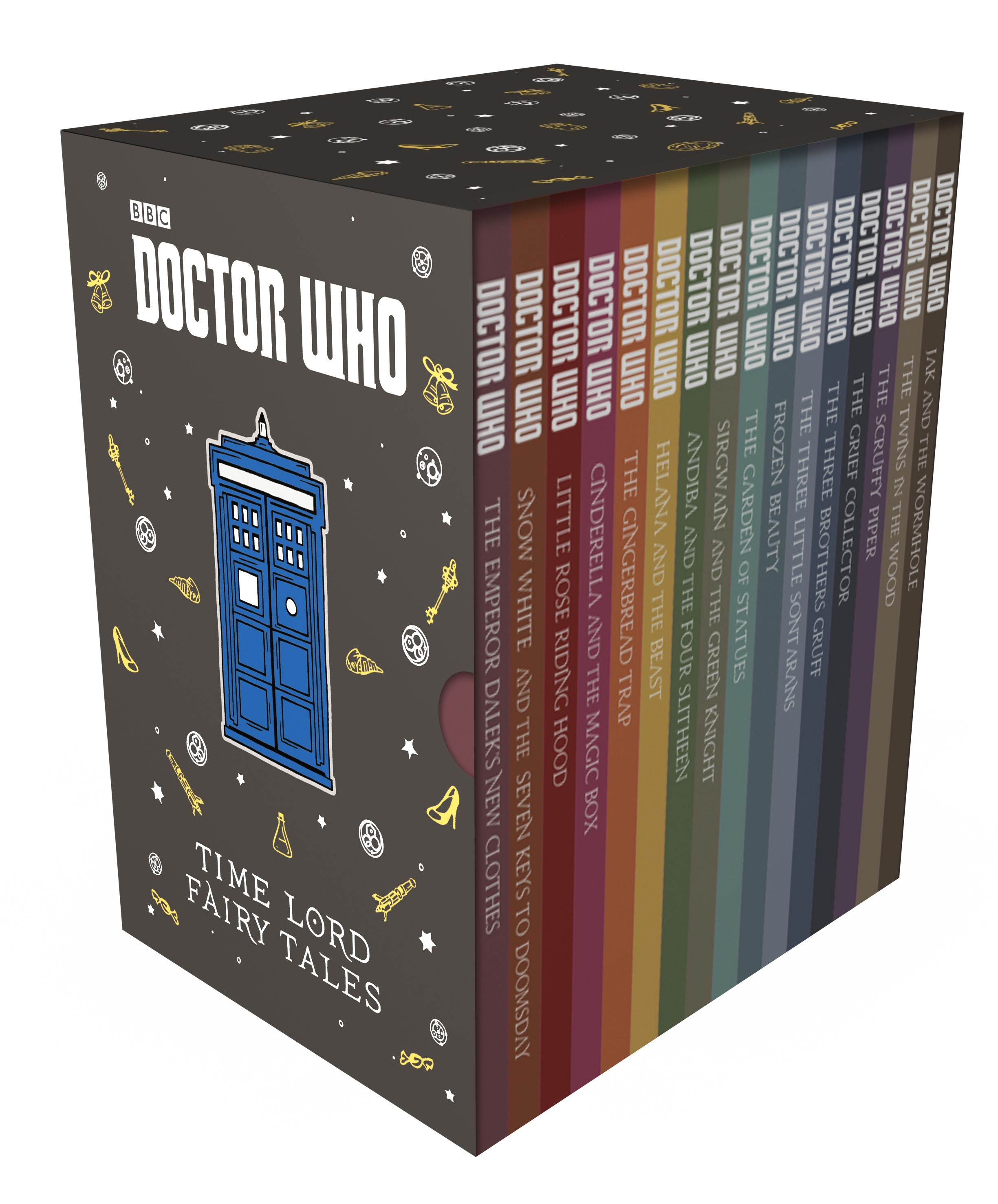 Time Lord Fairy Tales (Slipcase edition) (Credit: BBC Childrens Books)