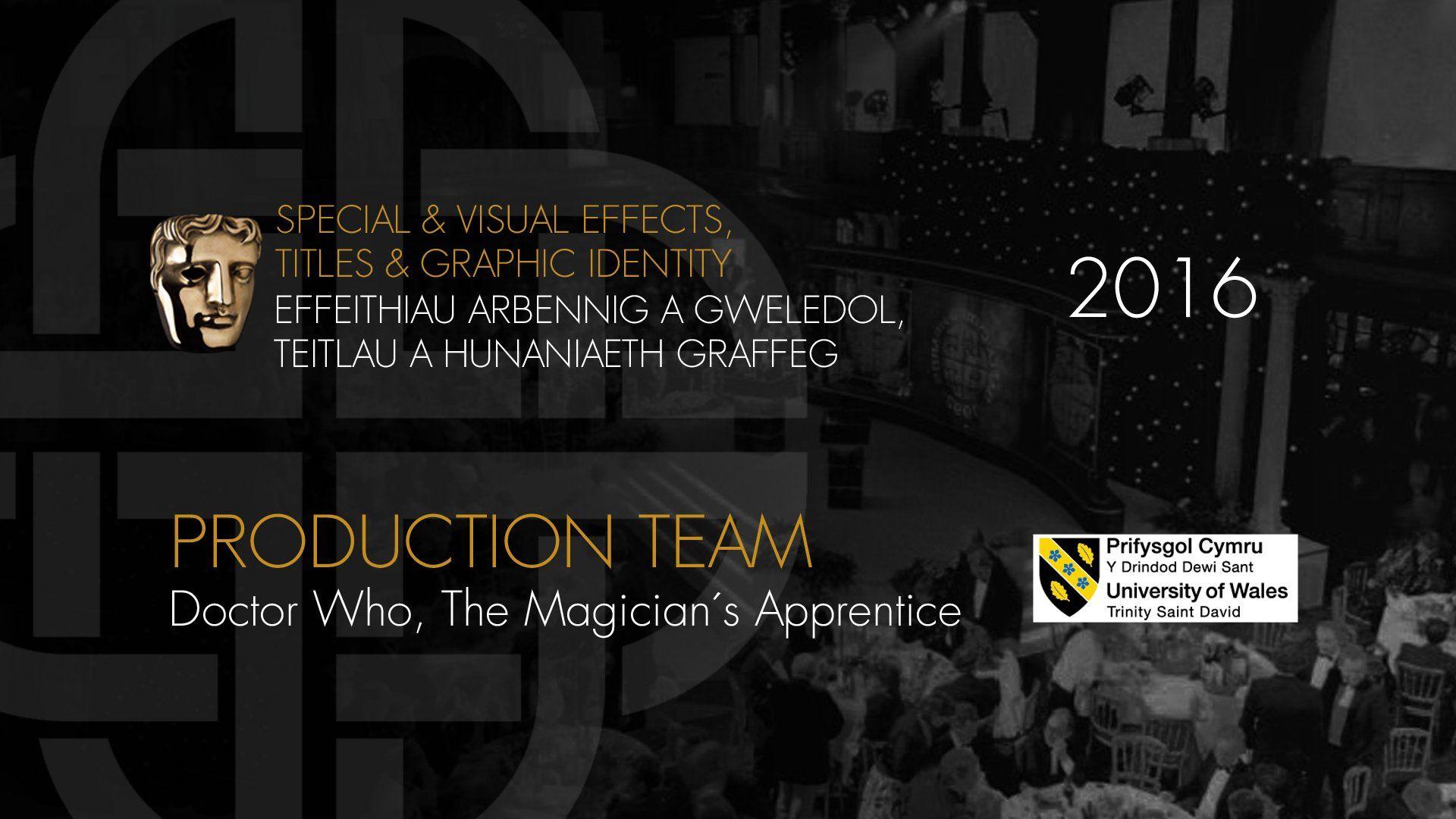 BAFTA Cymru Award 2016