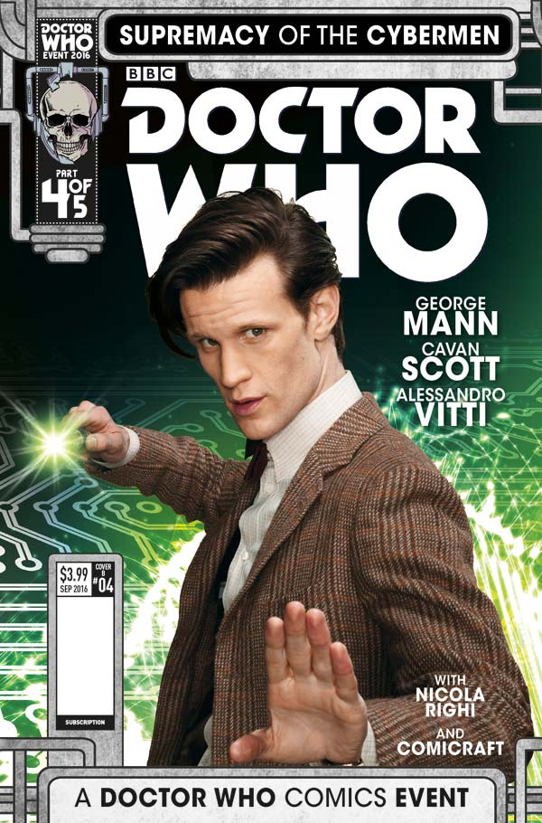 Doctor Who: SUPREMACY OF THE CYBERMEN #4 (Titan)