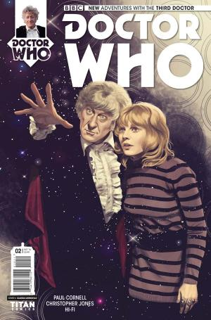 Doctor Who: Third Doctor #2 (Credit: Titan)
