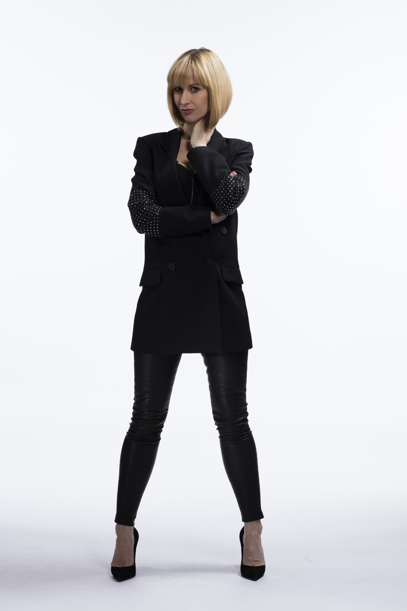 Miss Quill (KATHERINE KELLY) (Credit: BBC/Todd Antony)