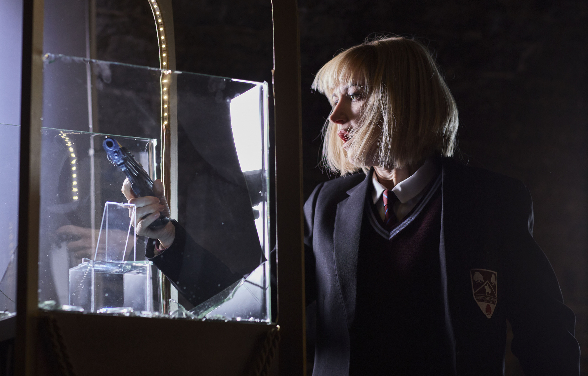 Miss Quill (KATHERINE KELLY) (Credit: BBC/Simon Ridgeway)
