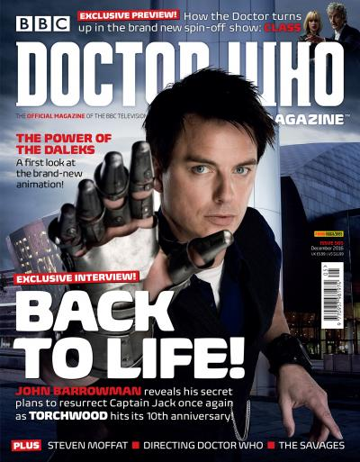 DOCTOR WHO MAGAZINE 505 (Credit: Panini)