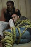 Tanya (VIVIAN OPARAH), Ram (FADY ELSAYED) (Credit: BBC/Simon Ridgeway)