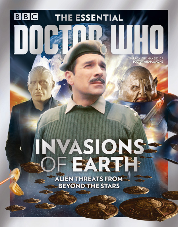 The Essential Doctor Who 9 - Invasions of Earth (Credit: Doctor Who Magazine)