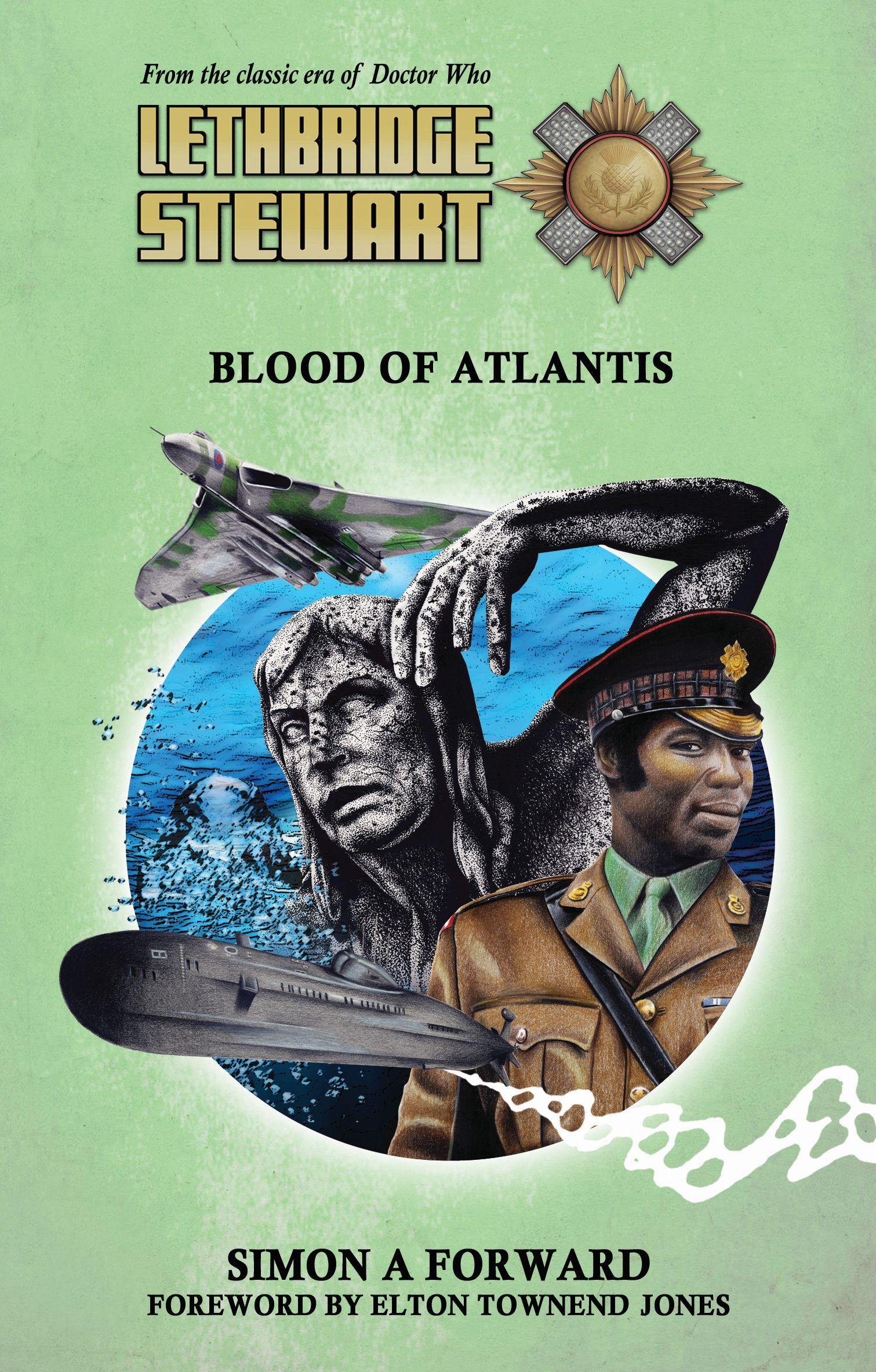 Lethbridge-Stewart: Blood of Atlantis (Credit: Candy Jar Books)