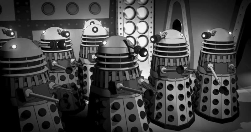 The Power of the Daleks in US theatres 14 Nov 2016 (Credit: BBC Worldwide/Fathom Events)