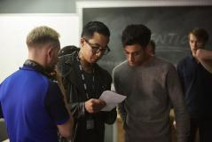 Class - Ep6 - Detained - Ram (FADY ELSAYED) (Credit: BBC/Simon Ridgeway)