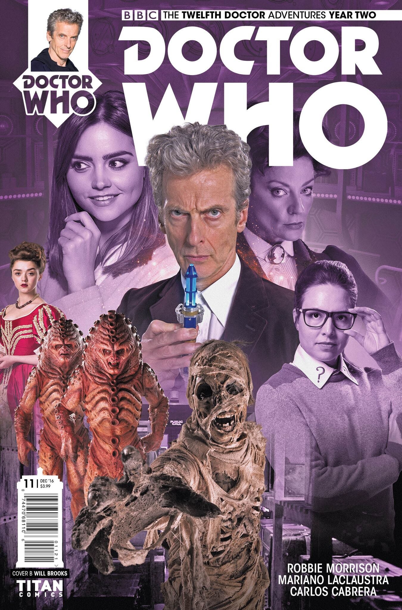 DOCTOR WHO: THE TWELFTH DOCTOR YEAR TWO #11 (Titan)