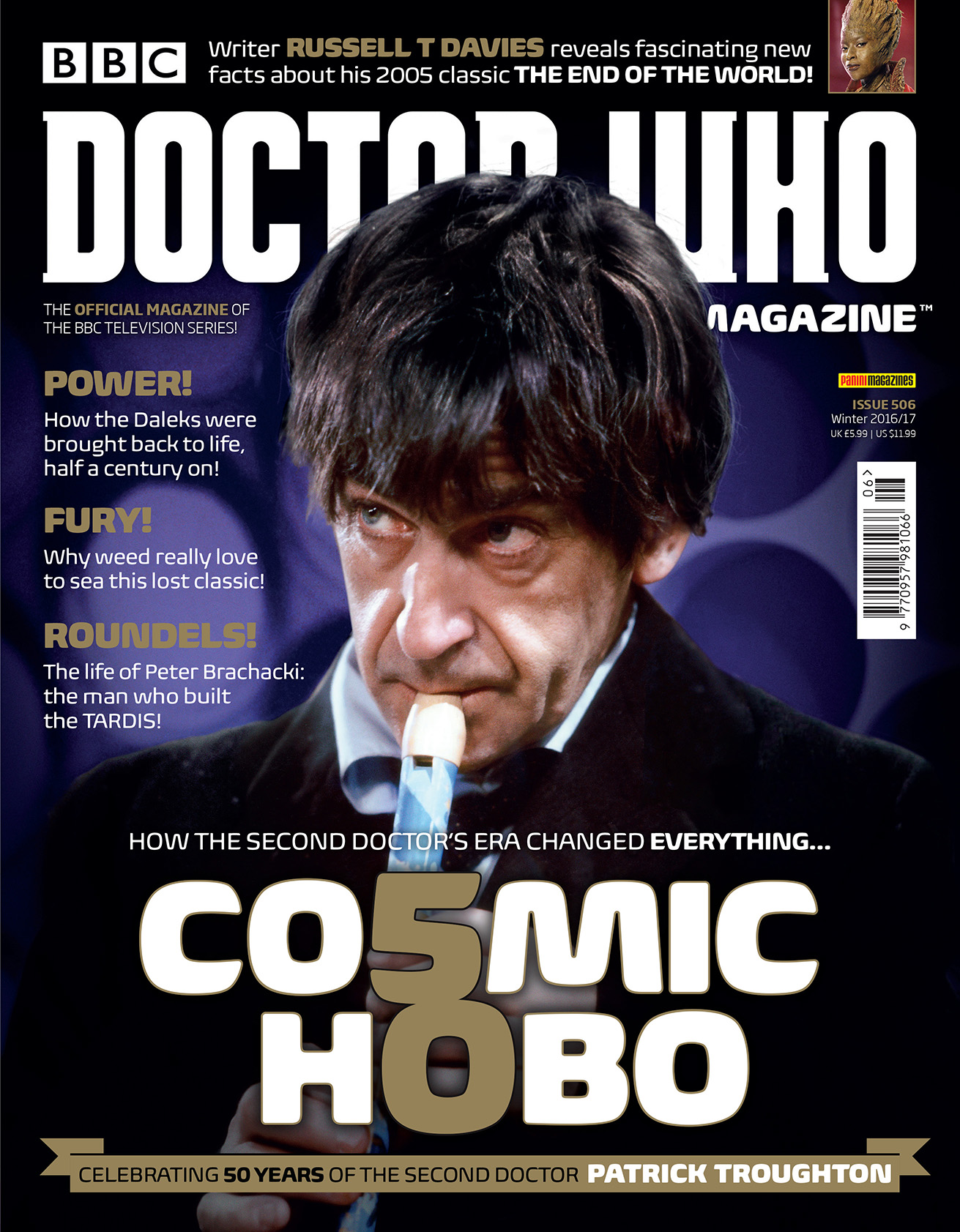 Doctor Who Magazine 506 (Credit: Panini)