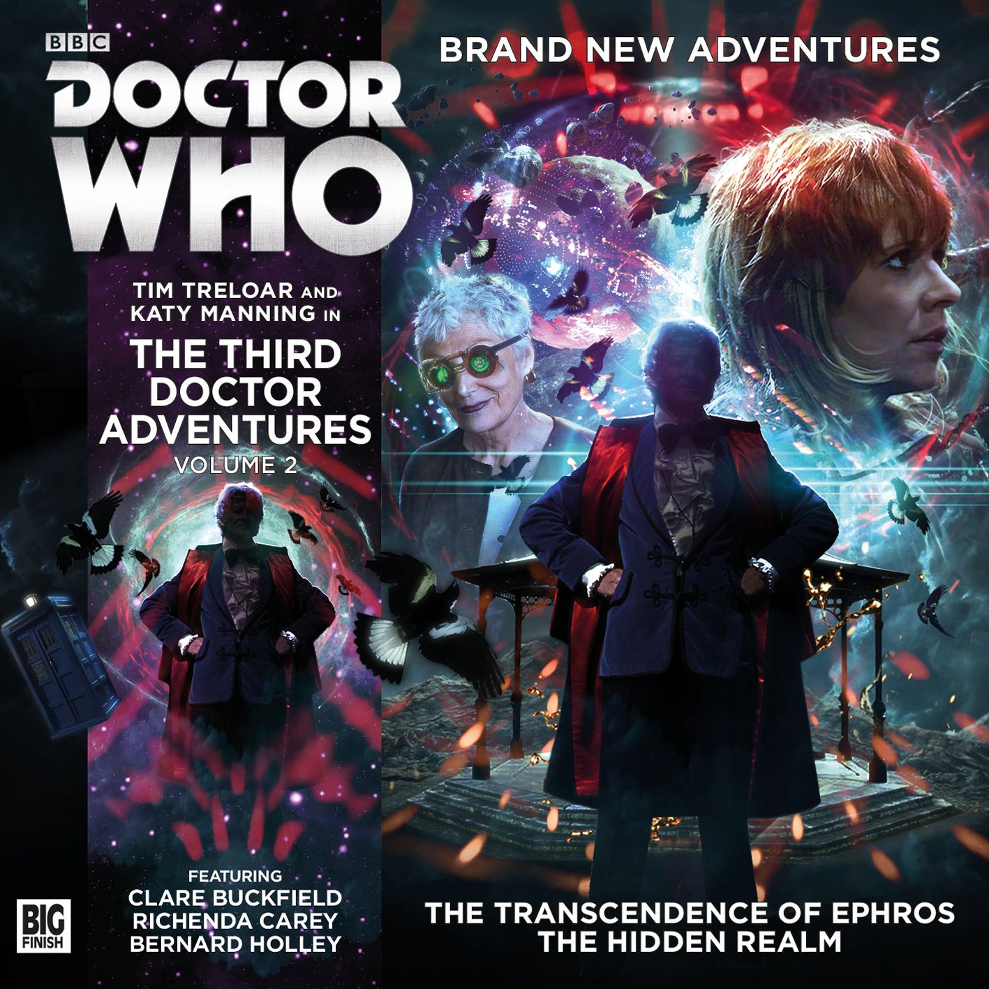 The Third Doctor Adventures: Volume 2 (Credit: Big Finish)