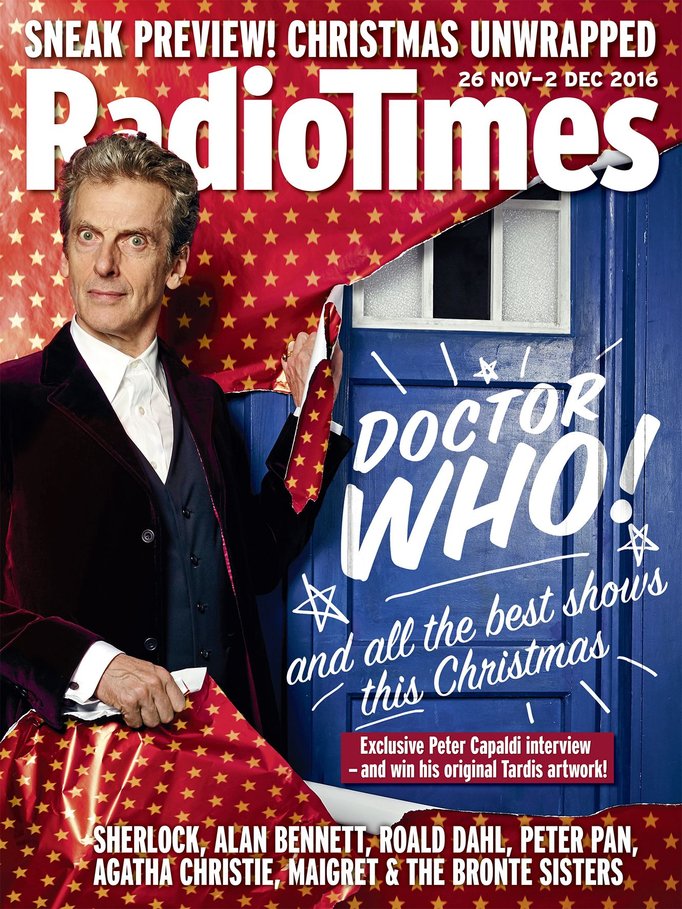 Radio Times (26 Nov - 2 Dec 2016) (Credit: Radio Times)