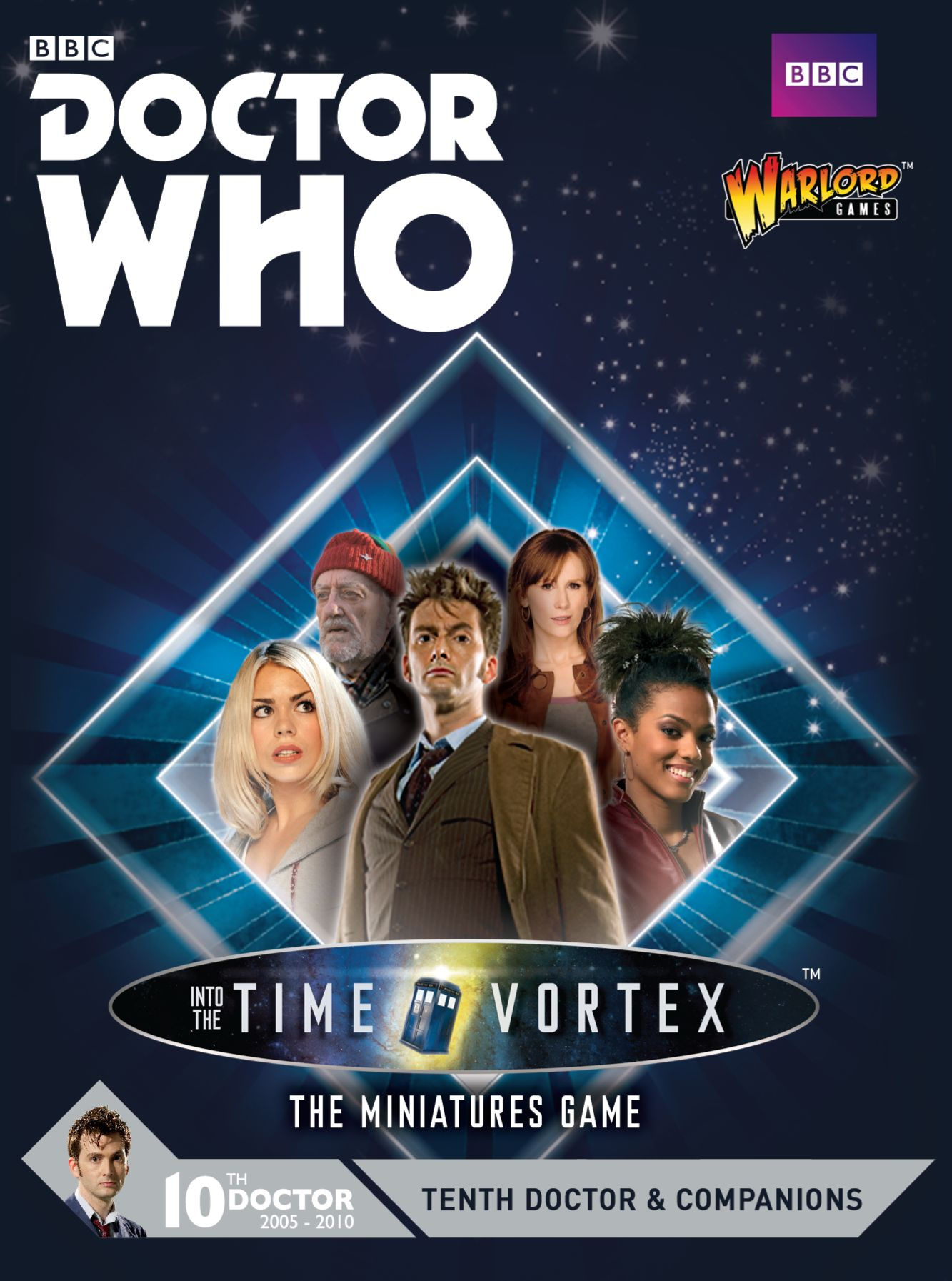 Warlord Games: Tenth Doctor and Companions (cover) (Credit: Warlord Games)