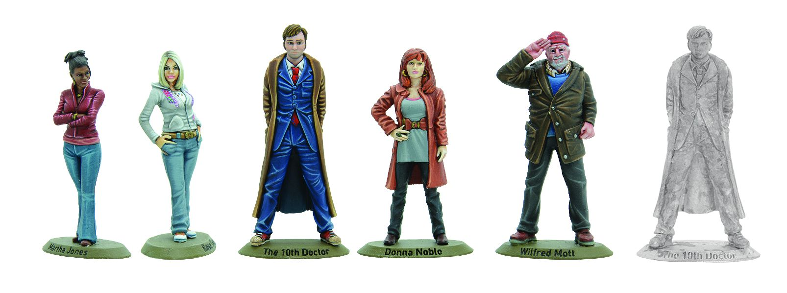 Warlord Games: Tenth Doctor and Companions (Credit: Warlord Games)