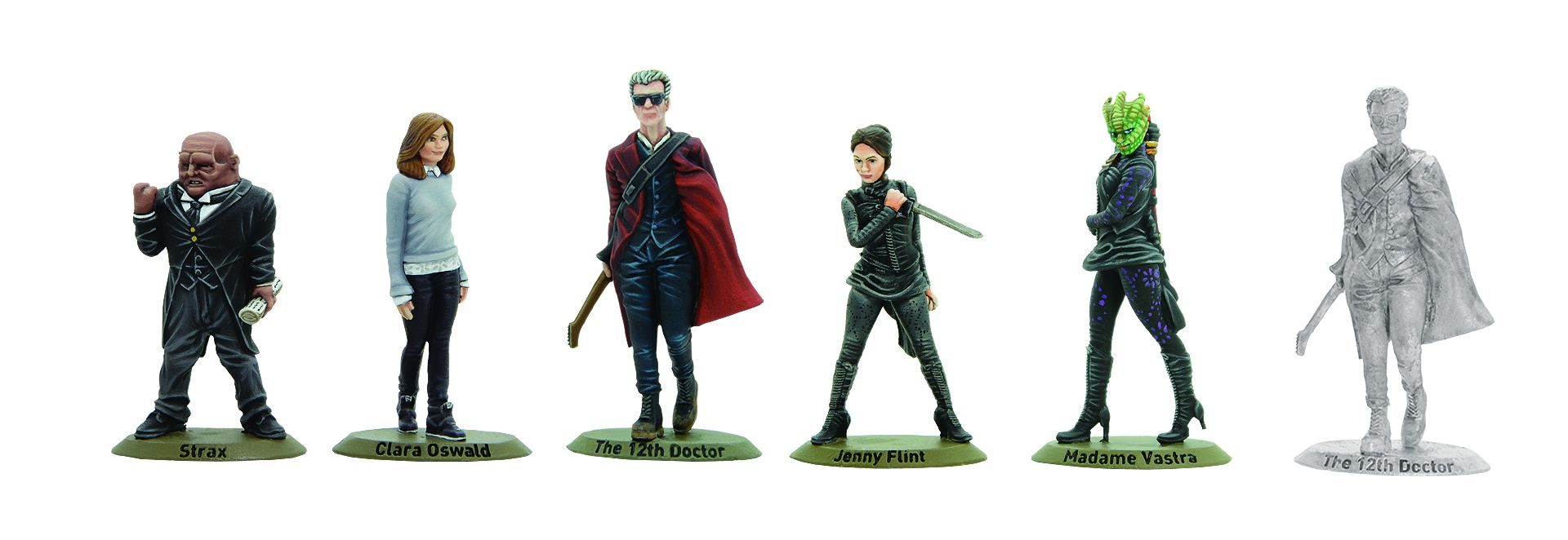 Warlord Games: Twelfth Doctor and Companions (Credit: Warlord Games)