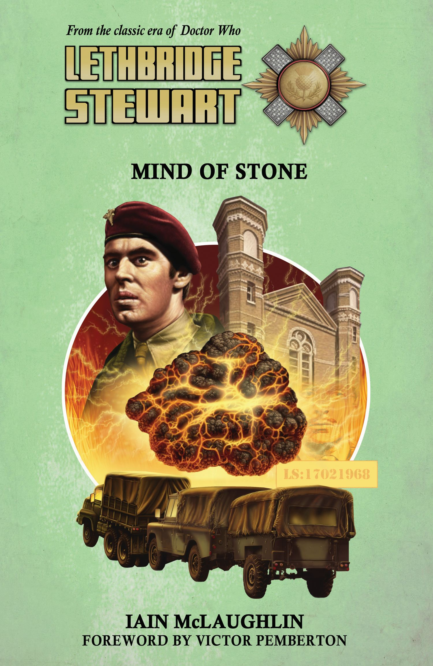 Lethbridge-Stewart: Mind of Stone (Credit: Candy Jar Books)