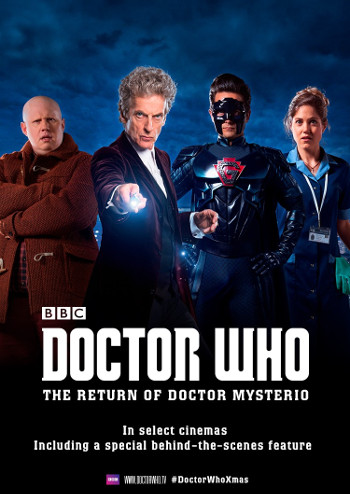 The Return of Doctor Mysterio in Danish Cinema (Credit: BBC Worldwide)