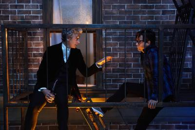 The Return of Doctor Mysterio  - Doctor Who (PETER CAPALDI), Grant (JUSTIN CHATWIN) (Credit: BBC)
