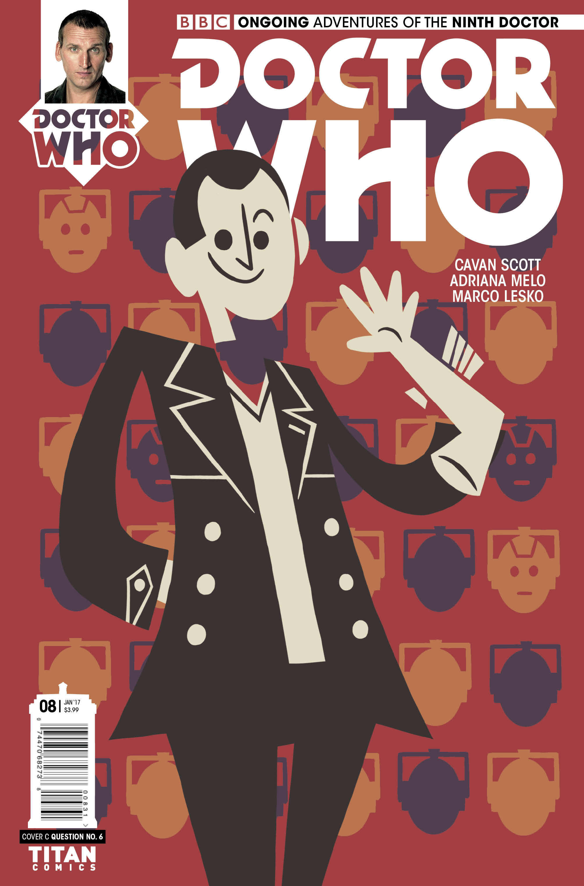 Ninth Doctor #8 Cover_C_Question_No_6 (Credit: Titan)