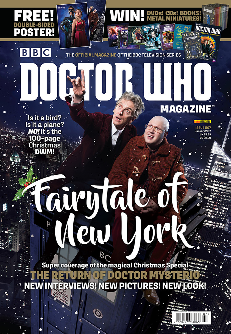 Doctor Who Magazine - Issue 507 (Credit: Panini)