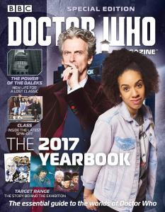 Doctor Who Magazine - 2017 Yearbook (Credit: Panini)