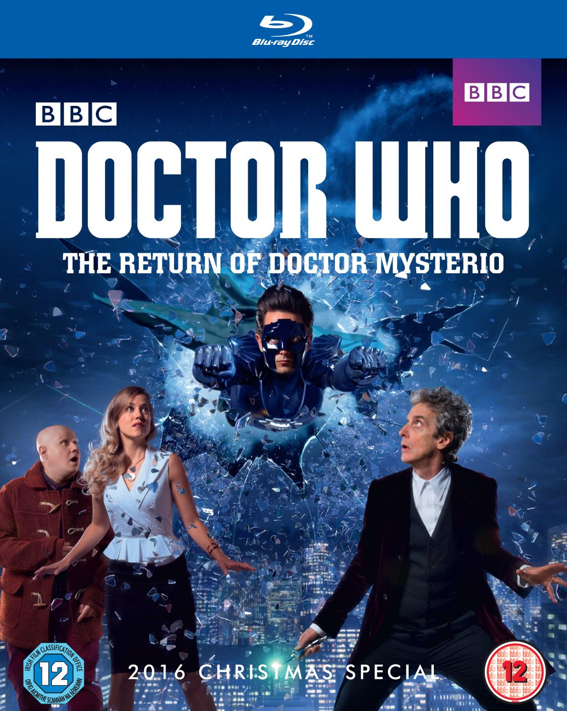 The Return of Doctor Mysterio (Blu-ray) (Credit: BBC Worldwide)