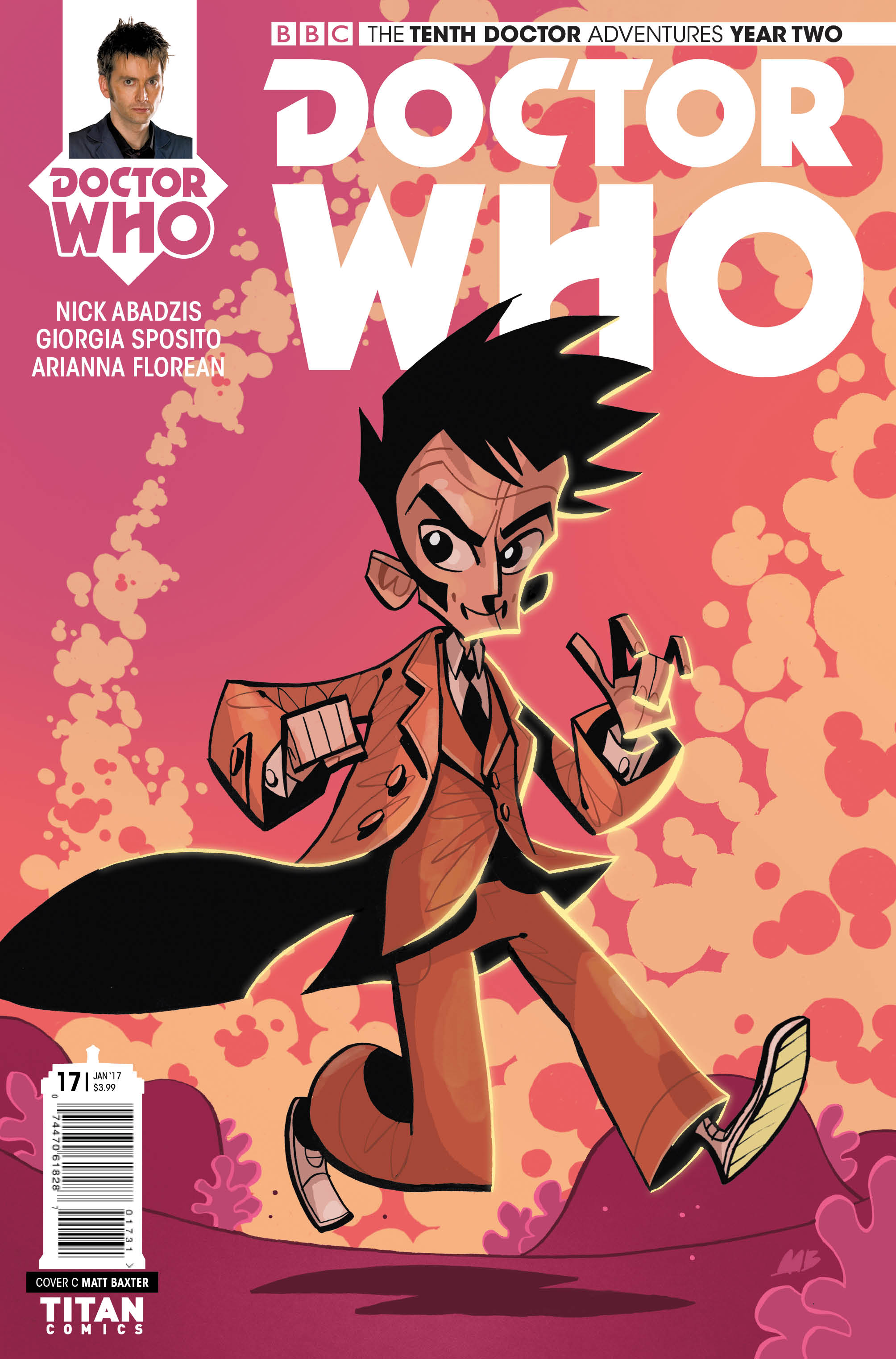 TENTH DOCTOR #2.17 Cover_C_Matt_Baxter (Credit: Titan)