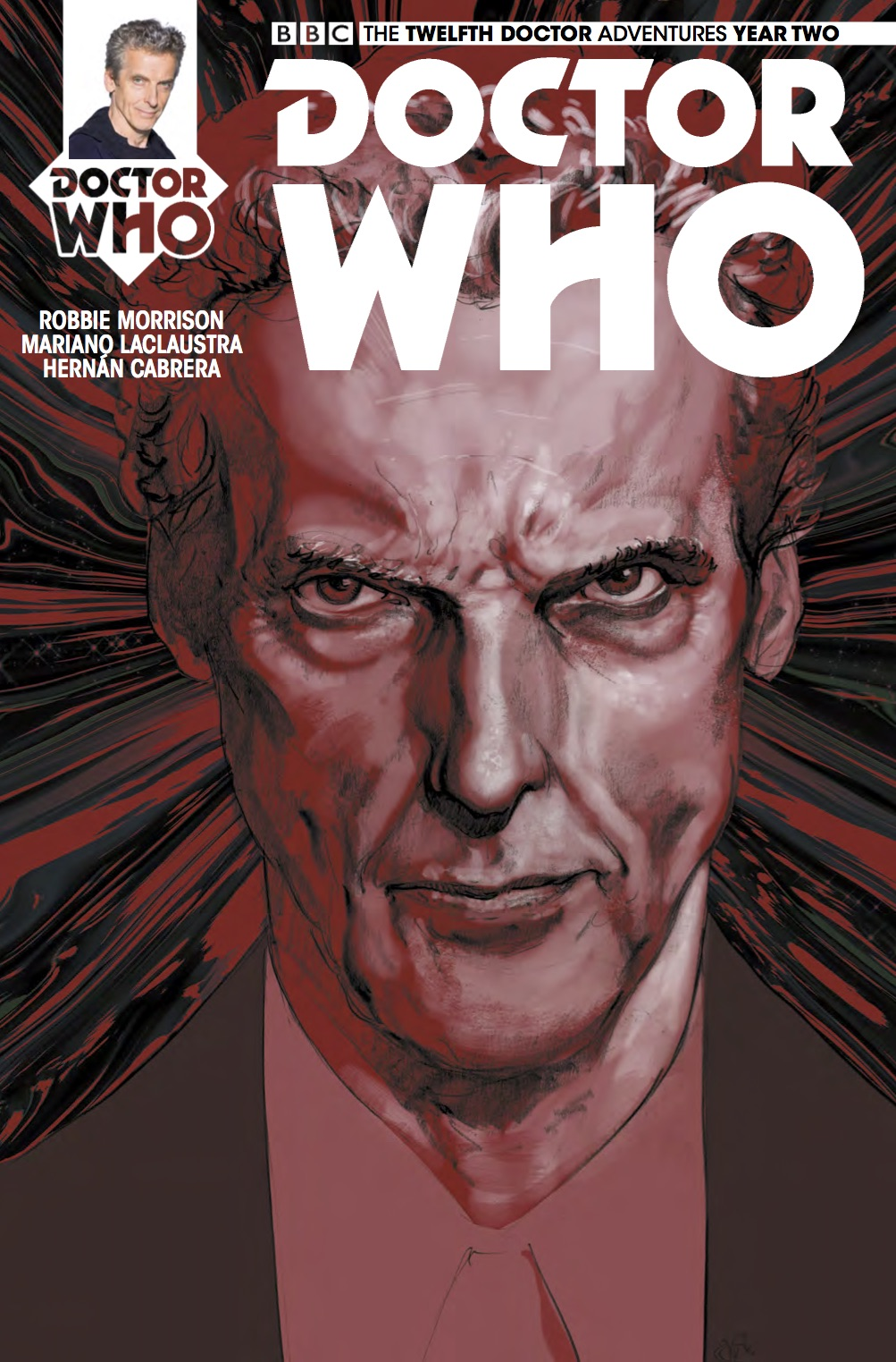 Twelfth Doctor #2.13 Cover_A Simon Fraser (Credit: Titan)