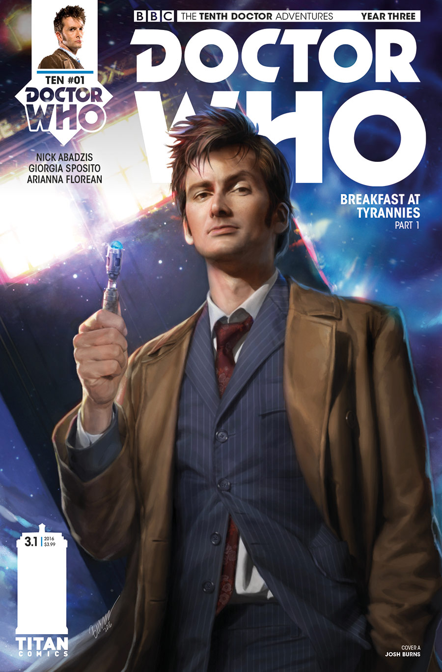 TENTH DOCTOR YEAR THREE #1 Cover_A_Josh_Burns (Credit: Preview_2-3)