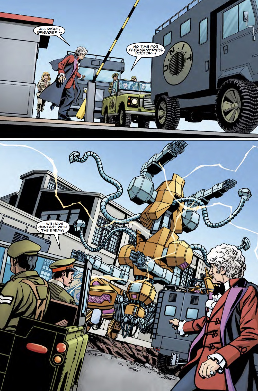DOCTOR WHO THIRD DOCTOR #4 Page_2 (Credit: Titan)
