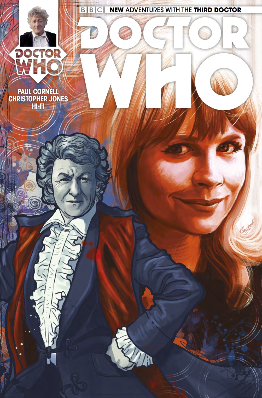 DOCTOR WHO THIRD DOCTOR #4 Cover_C (Credit: Titan)