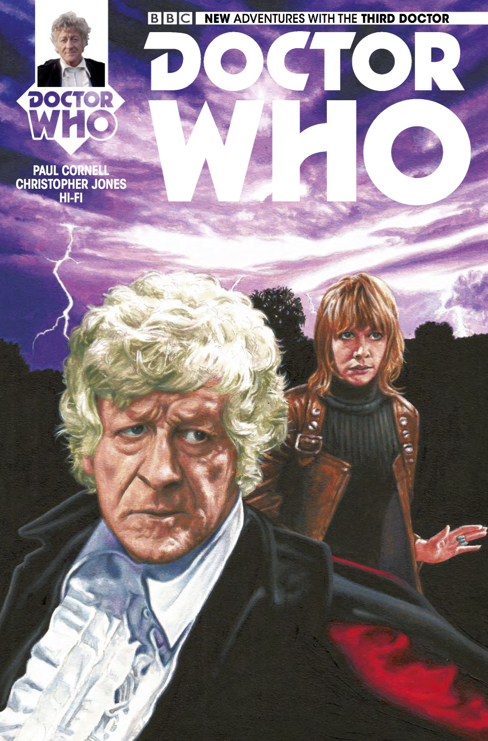 DOCTOR WHO THIRD DOCTOR #4 Cover_A (Credit: Titan)