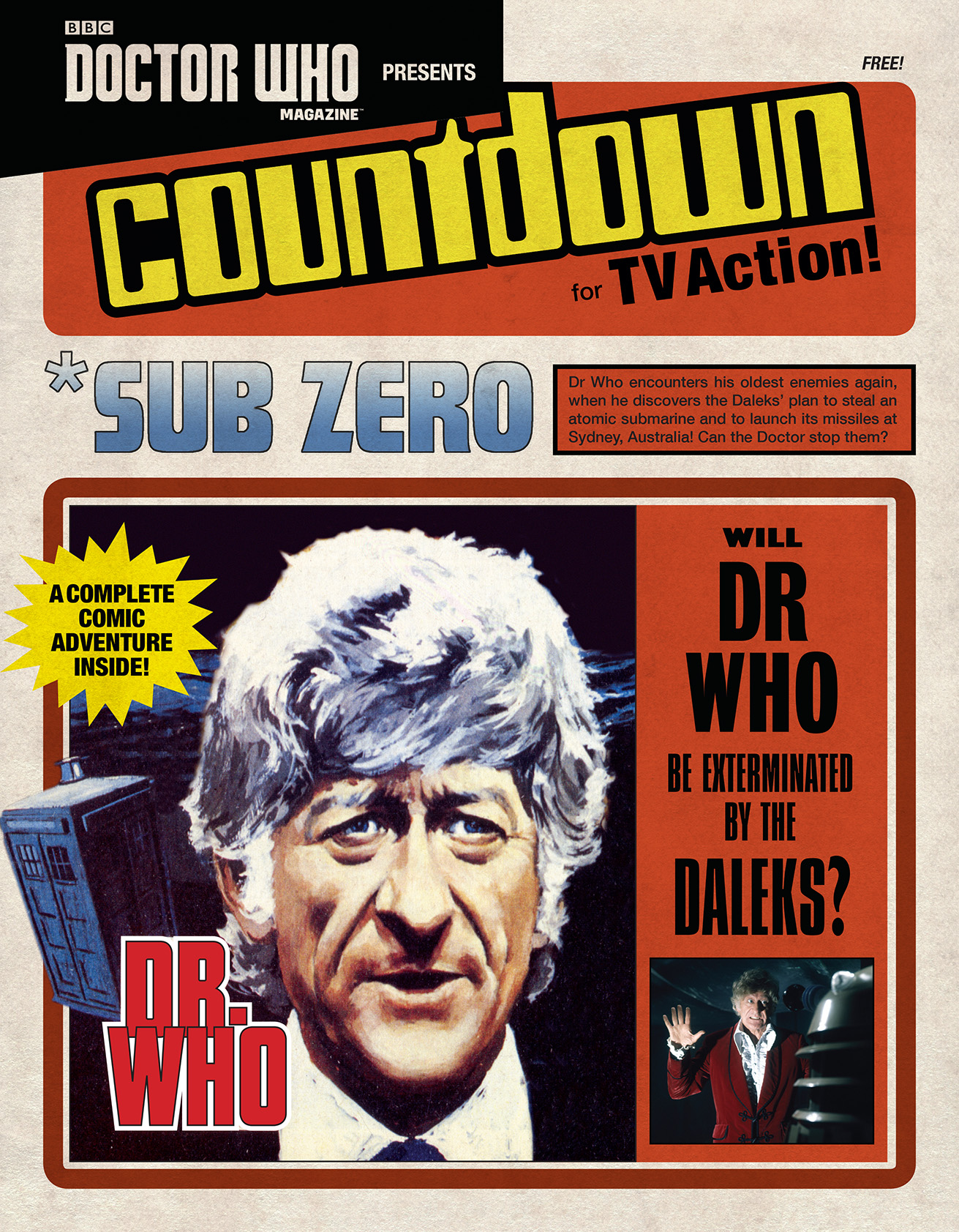 Doctor Who Magazine 508 Supplement (Credit: Panini)