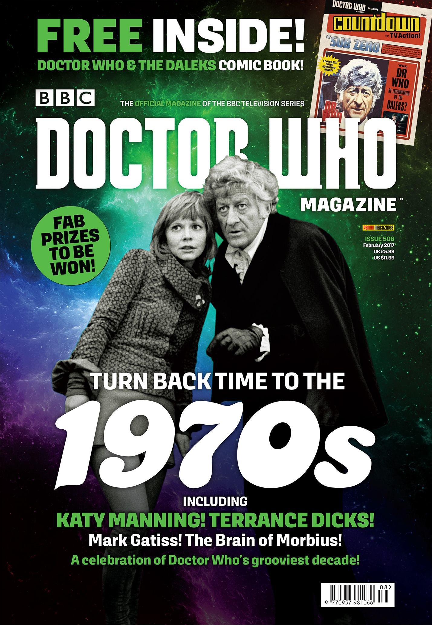 Doctor Who Magazine 508 (Credit: Panini)