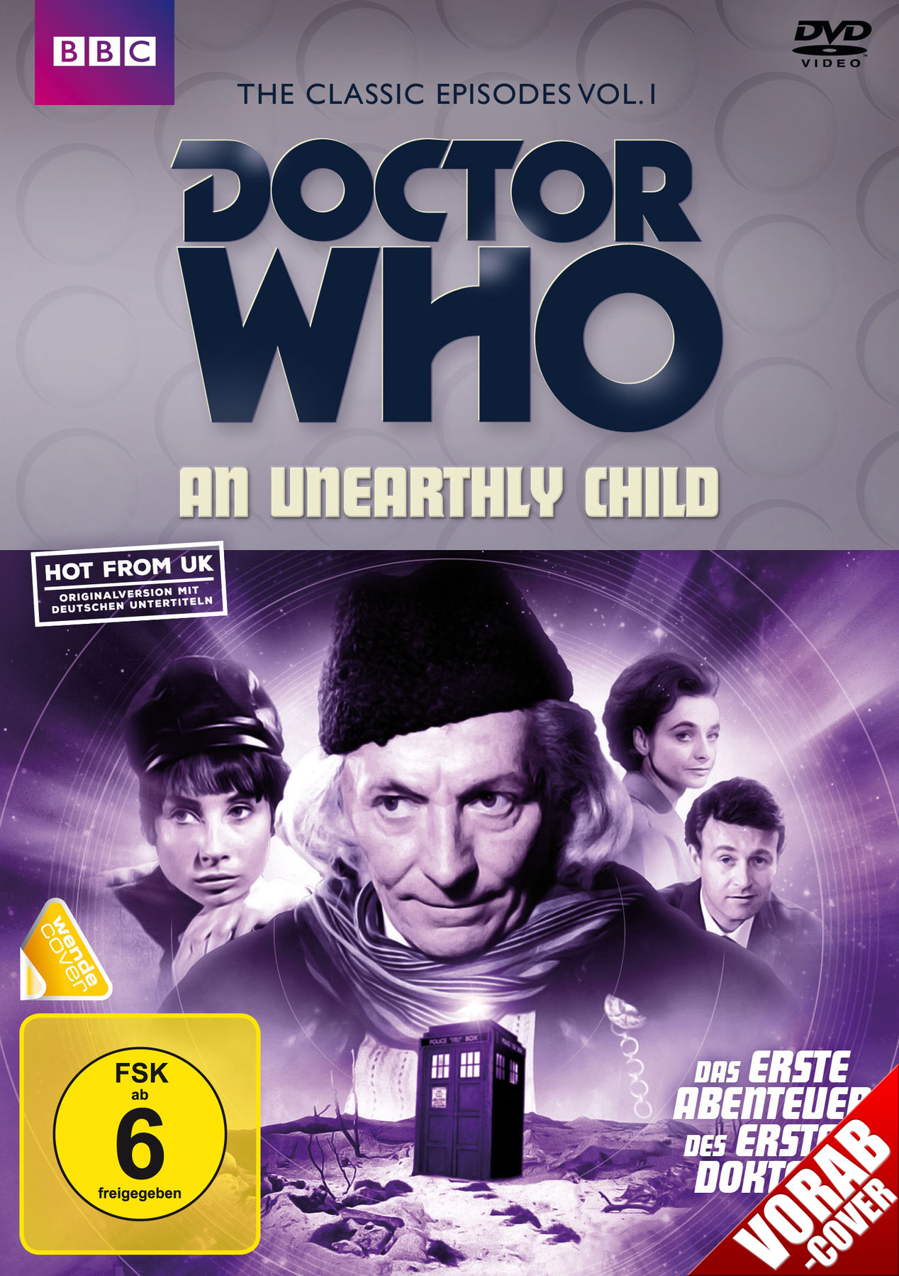 German release An Unearthly Child (Credit: WVG / Polyband)