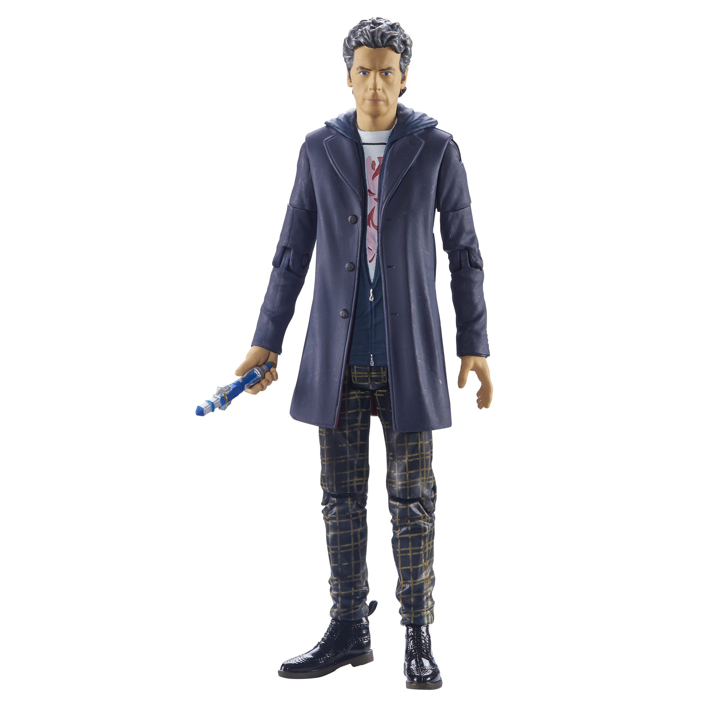 Twelth Doctor Hoodie With Check Trousers (Credit: Character Options)