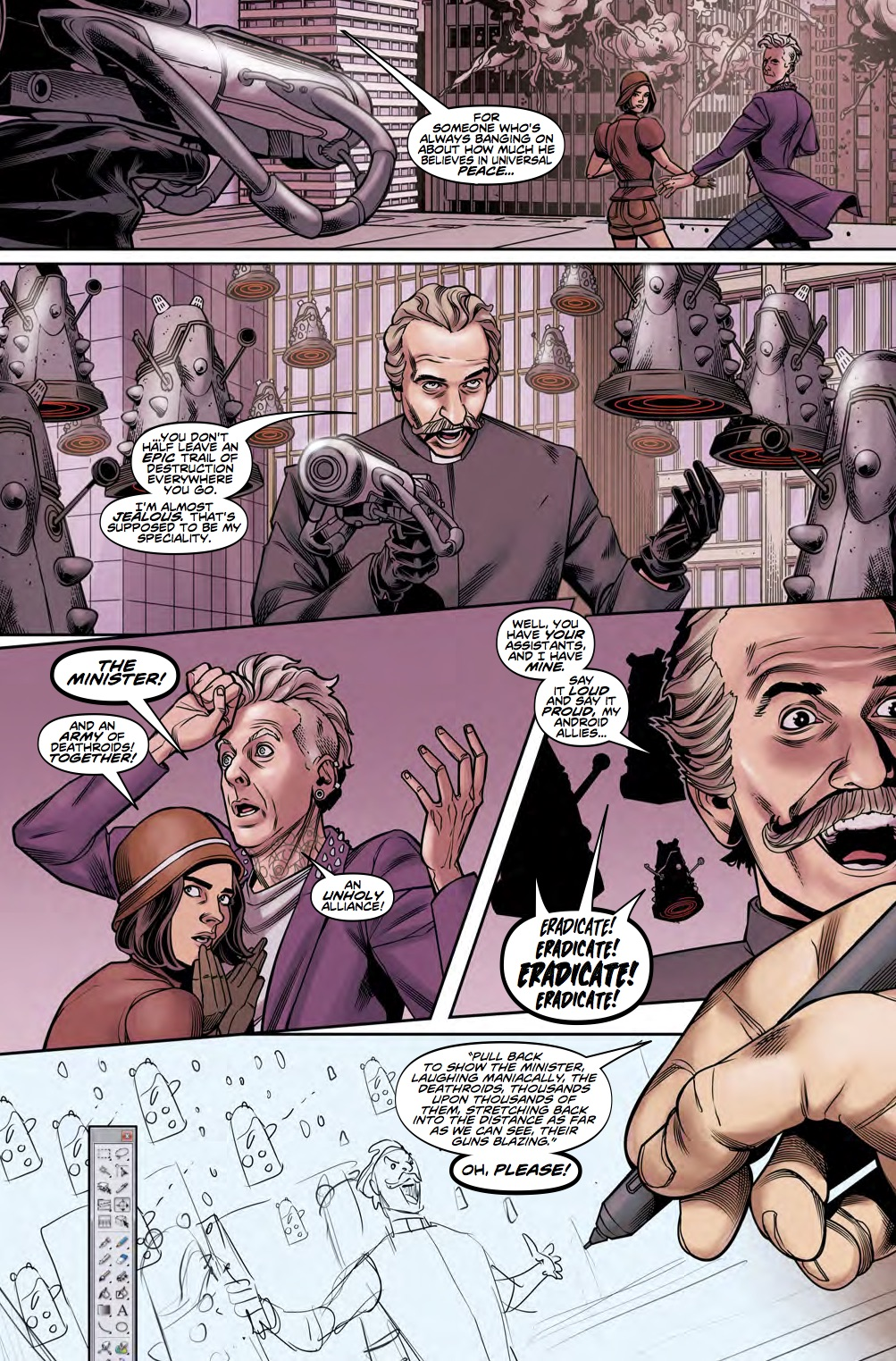 The Twelfth Doctor 2 14 Preview 3 (Credit: Titan)