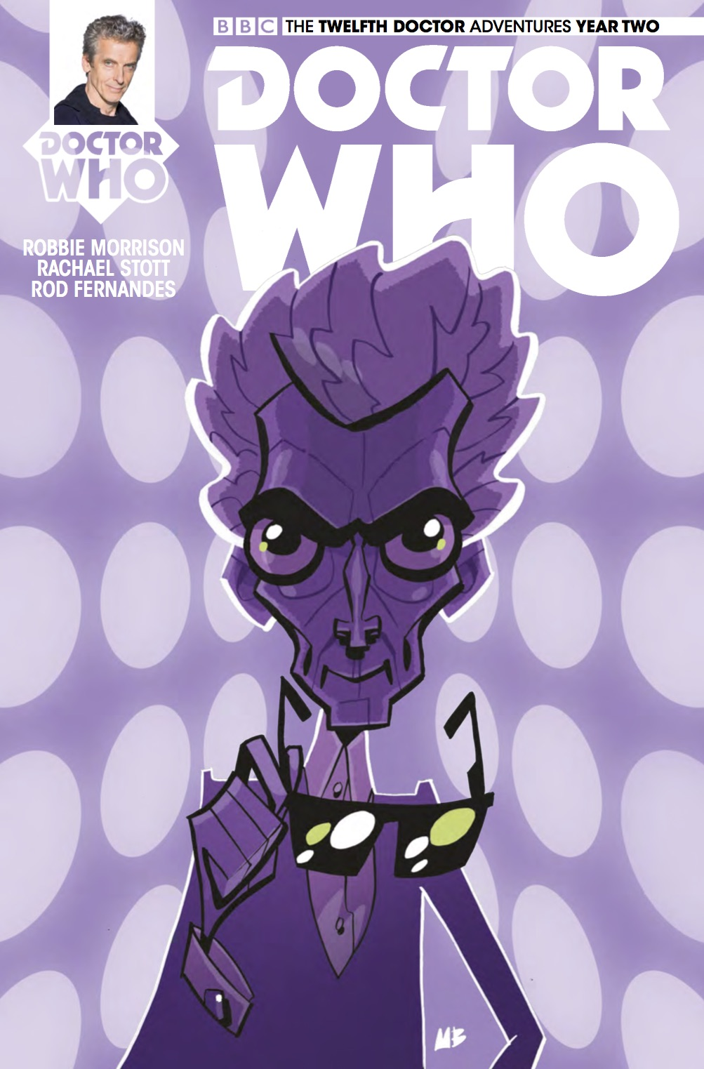 The Twelfth Doctor 2 14 Cover C (Credit: Titan / Matt Baxter)